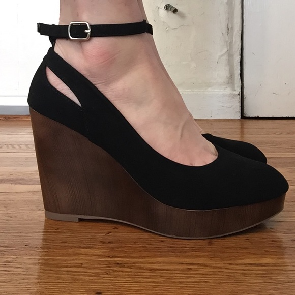 Wedge Heels With Ankle Strap | Poshmark